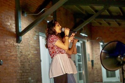 Aarushi and Amishi brought the full force of their Bollypop stylings to the September SLUG Picnic.