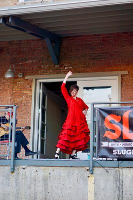 With the Flamenco Del Lago group, Katie Sheen-Abbott celebrates the long-standing tradition of Flamenco dance.