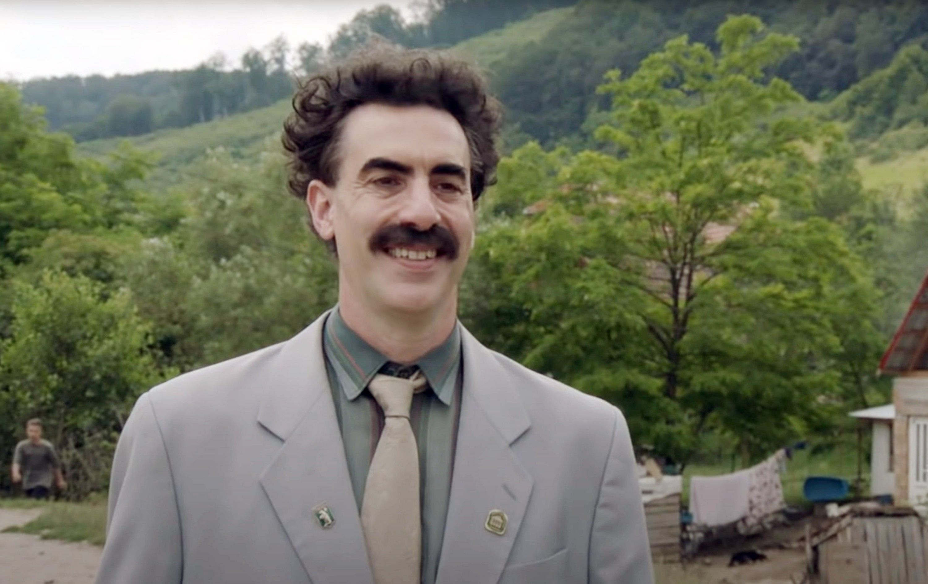 Borat Subsequent Moviefilm is a constant tug-of-war between comic genius and lowbrow stupidity, often at the same time.