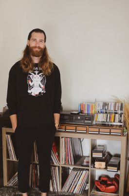 Far Out Cassette Club head and local musician Nick Anderson stands by his collection of physical music.