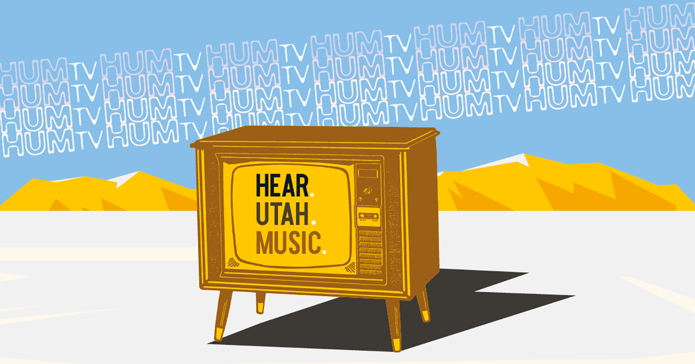 "HUM-TV, the Salt Lake City Public Library's new local music show presents as a ""public access–meets–MTV format."""