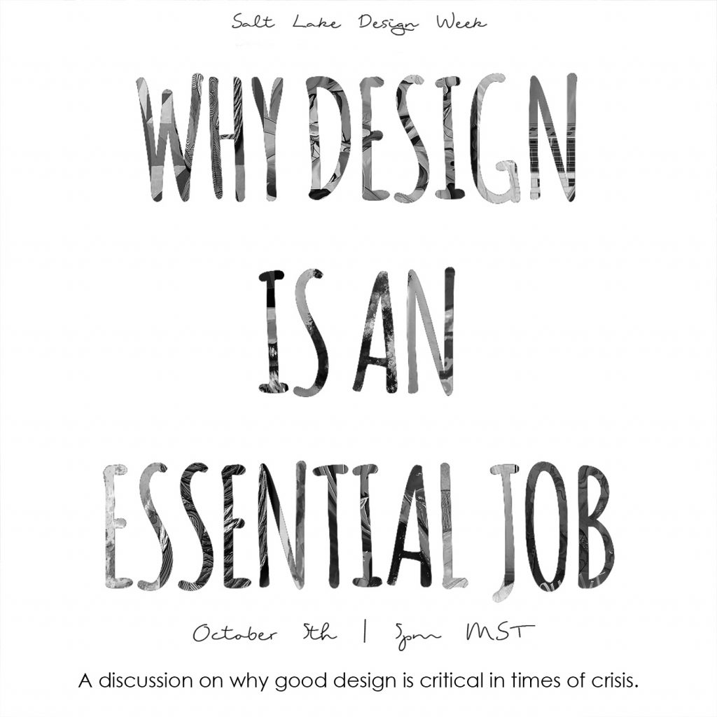 SLDW 2020: Why Design is an Essential Job