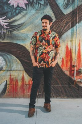 """I'm originally from Cuba, and we are typically very colorful people,"" says David Quiñones. ""We like to have a little bit of color everywhere and some art in there. You also want to stand out a little bit from the rest of the crowd."""
