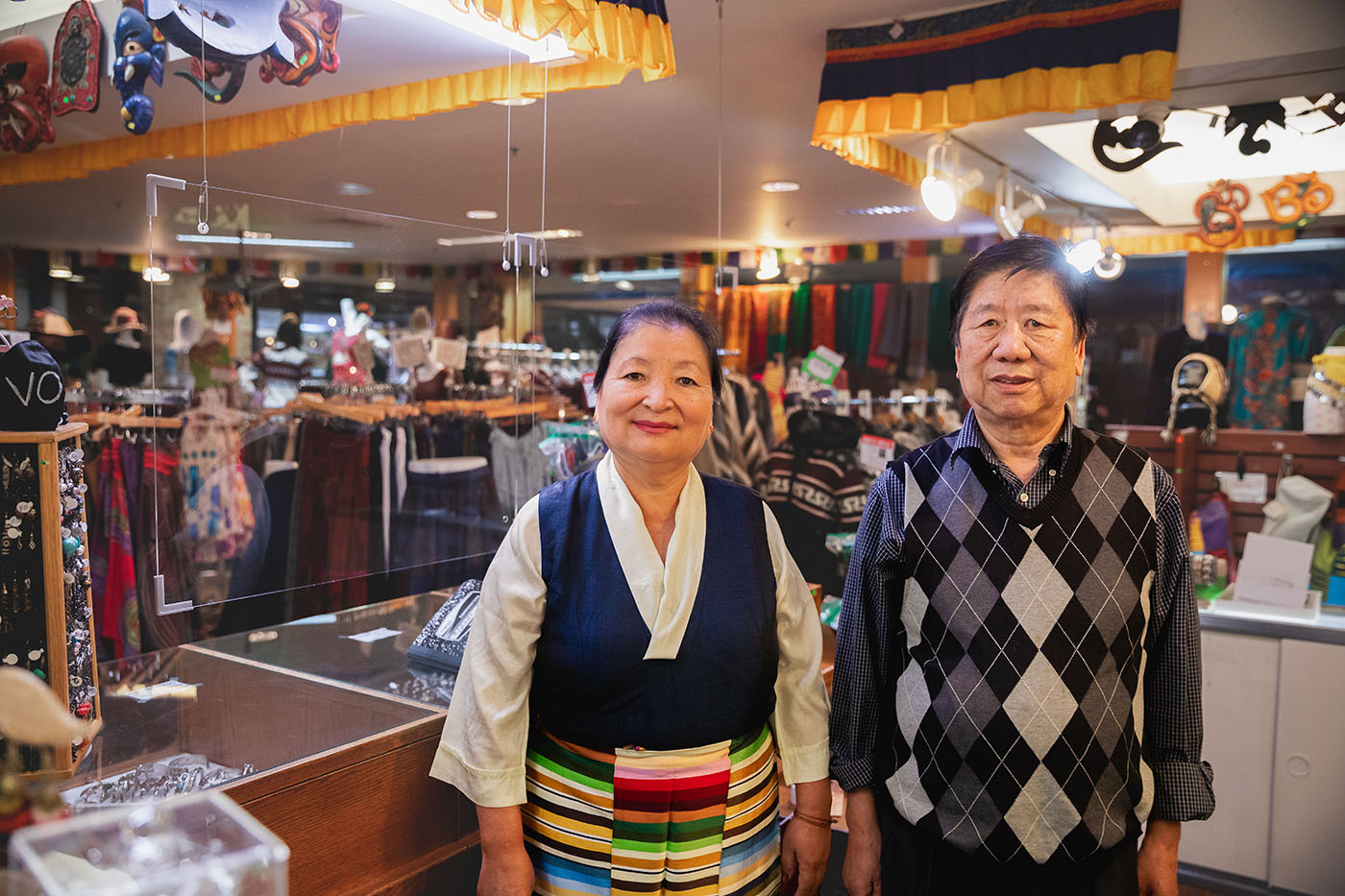 (L–R) Yeshi Shekhang and her husband Sonam Shekhang have found Utah to be a welcoming place to raise their family and establish their business.