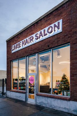 Cake Hair Salon has an open and inclusive environment that promotes creative self-expression.