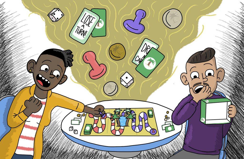 Oasis Games: A Smorgasbord of Board Games