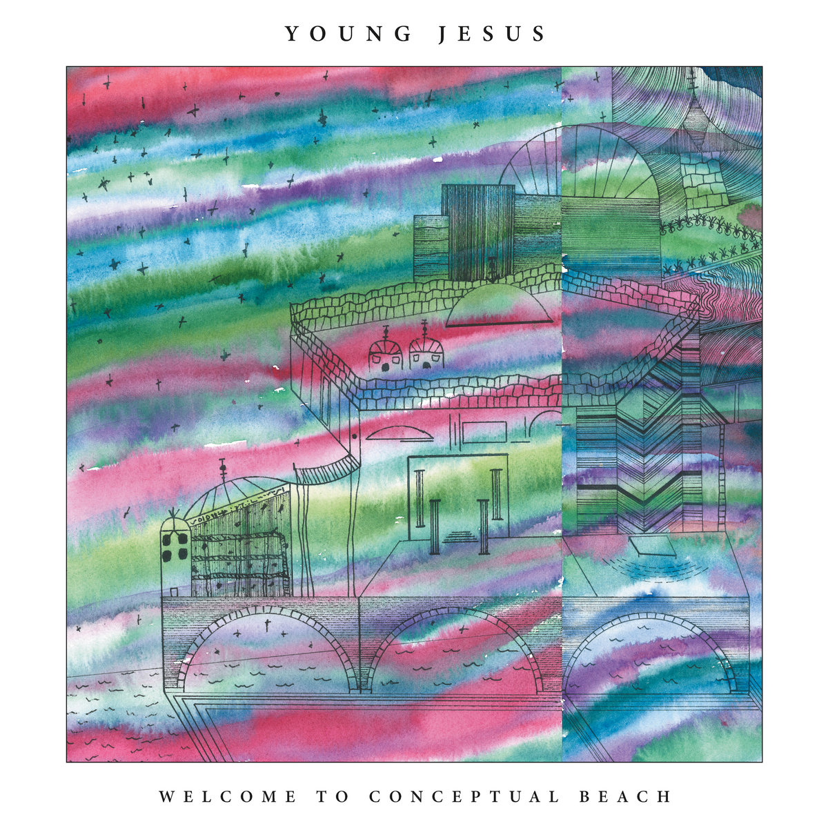 Young Jesus | Welcome to Conceptual Beach | Saddle Creek Records
