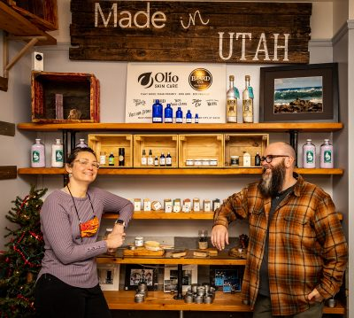 With Olio Skin & Beard Co., Derek and Jennifer Williamson create skin care and beauty products with an eye to sustainability.