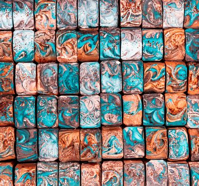 """""""Every bar of soap is a piece of art; every bar of soap is like a fingerprint,"""" Derek of Olio Skin & Beard Co. says."""