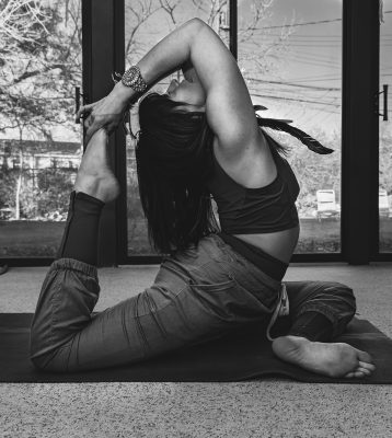 One of Lavoie's many goals with WildFlow is to host a 200-hour yoga teacher training for aspiring yoga teachers.