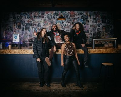 """""""We play classic rock brought into the modern age,"""" says Michael Collins, the drummer of the Salt Lake City–based Spirit Machines."""