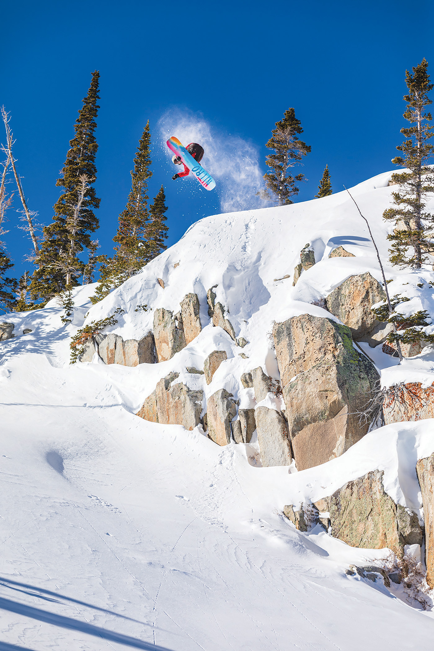 The Brighton backcountry is legendary in snowboarding. Chances are that if you have watched a snowboarding movie in the last two decades, you'll have seen footage from here. Sam Taxwood keeps the tradition alive.