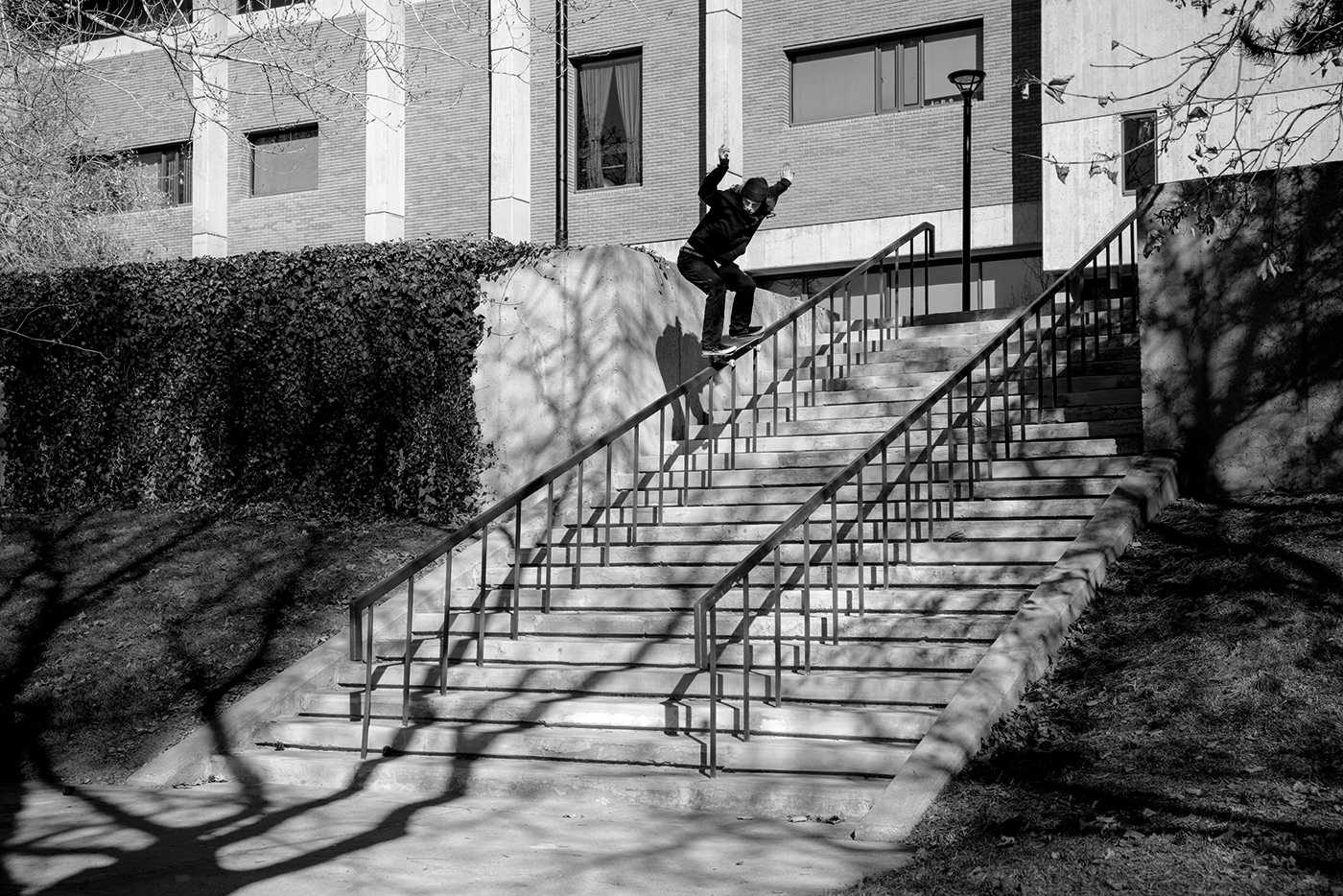 Christian Bourne – Backside 50-50 – SLC, Utah