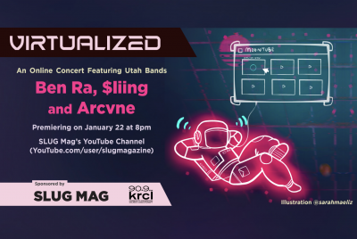 SLUG Mag is stoked to continue their Virtualized concert series with local hip-hop artists Ben Ra, $liing and Arcvne!
