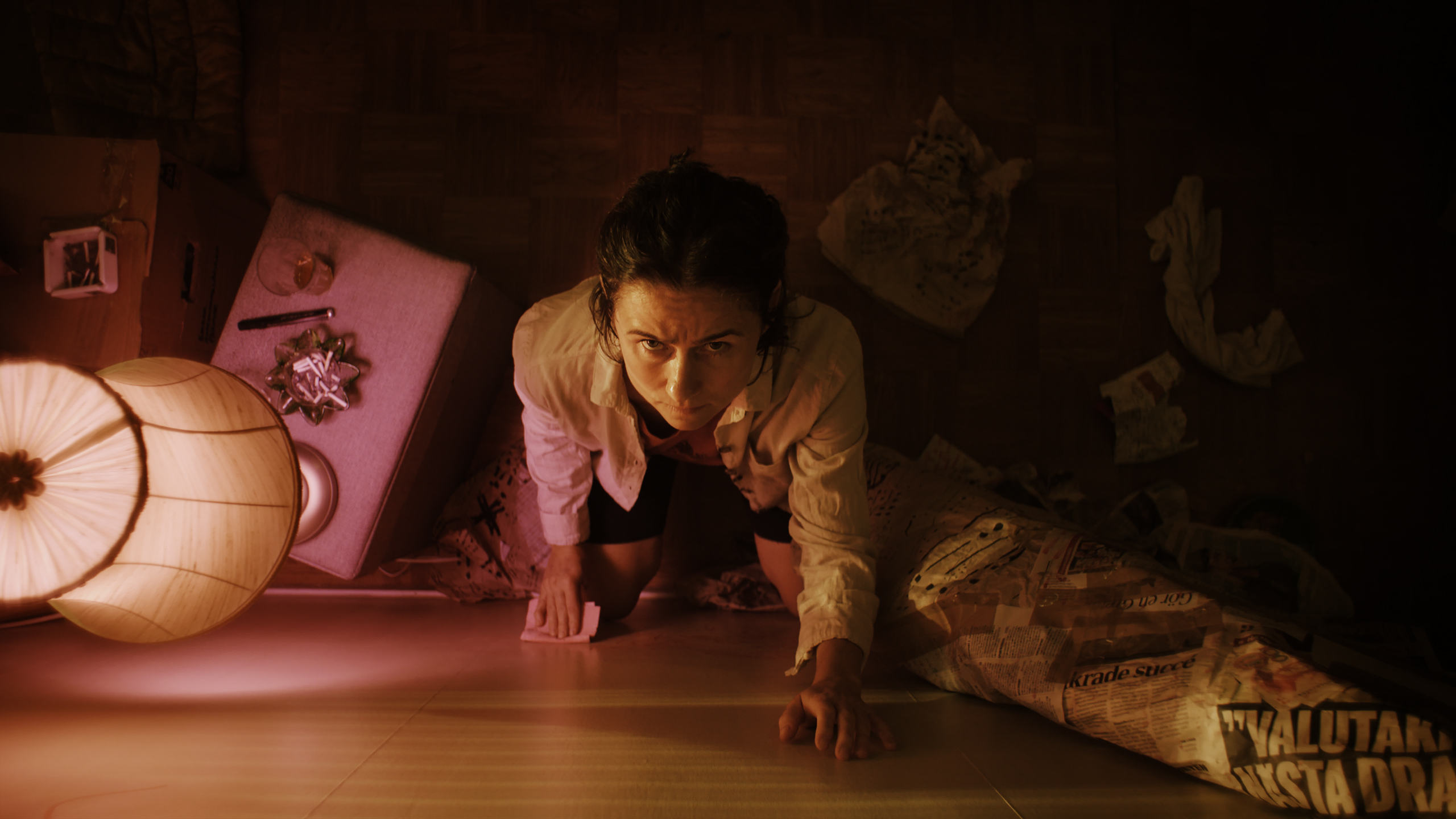 Knocking presents a war between Molly's (Cecilia Milocco) resilience and society's churn of normalized silencing.