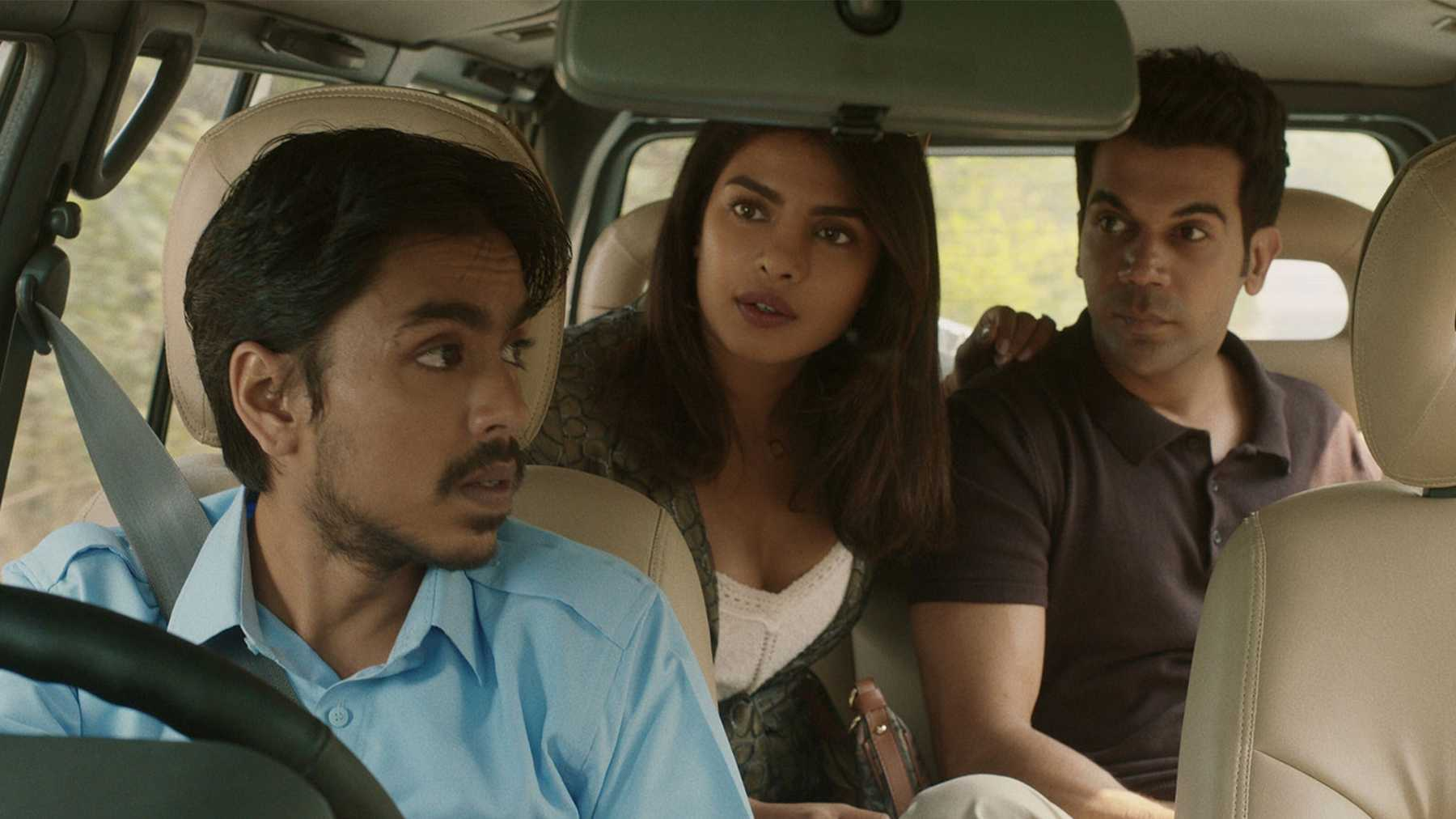 Rao is a great presence as the master that Balram follows like a dog, and Chopra-Jonas lights up the screen with both her beauty and the sophistication of her character.