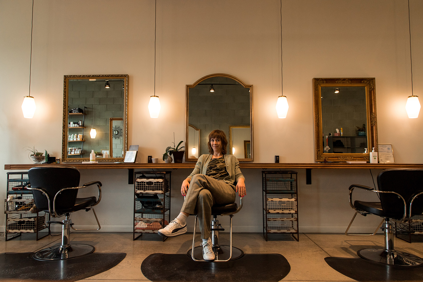 Memorie Morrison is a hairstylist, Owner of Central Ninth's Troubadour salon and she's known for her band ¡andale!.