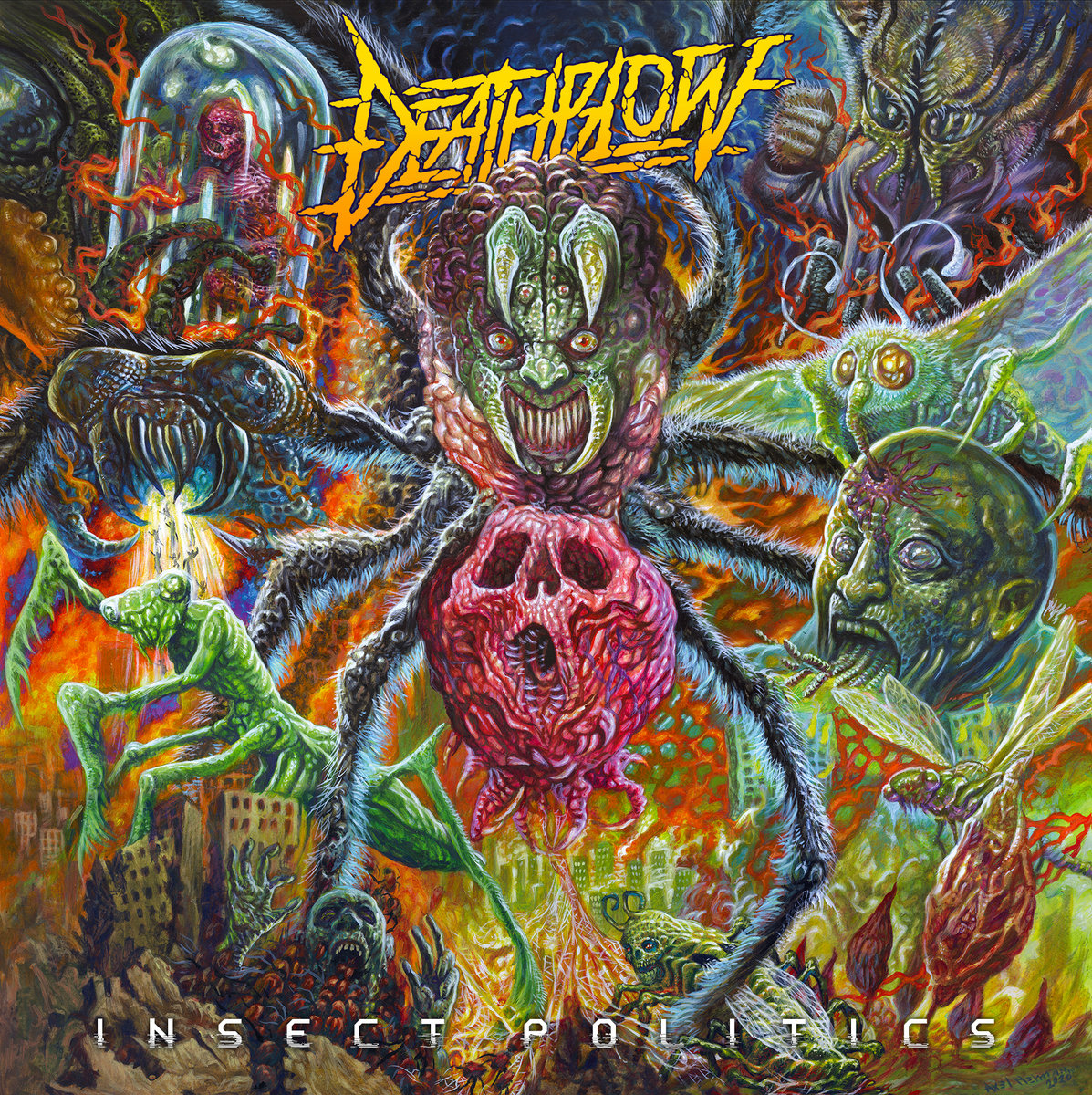 Deathblow | Insect Politics | Sewer Mouth Records