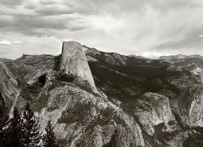 Half Dome Yosemite NP, 2010, digital 35mm / Canon. Personal image, Yosemite National Park, California.