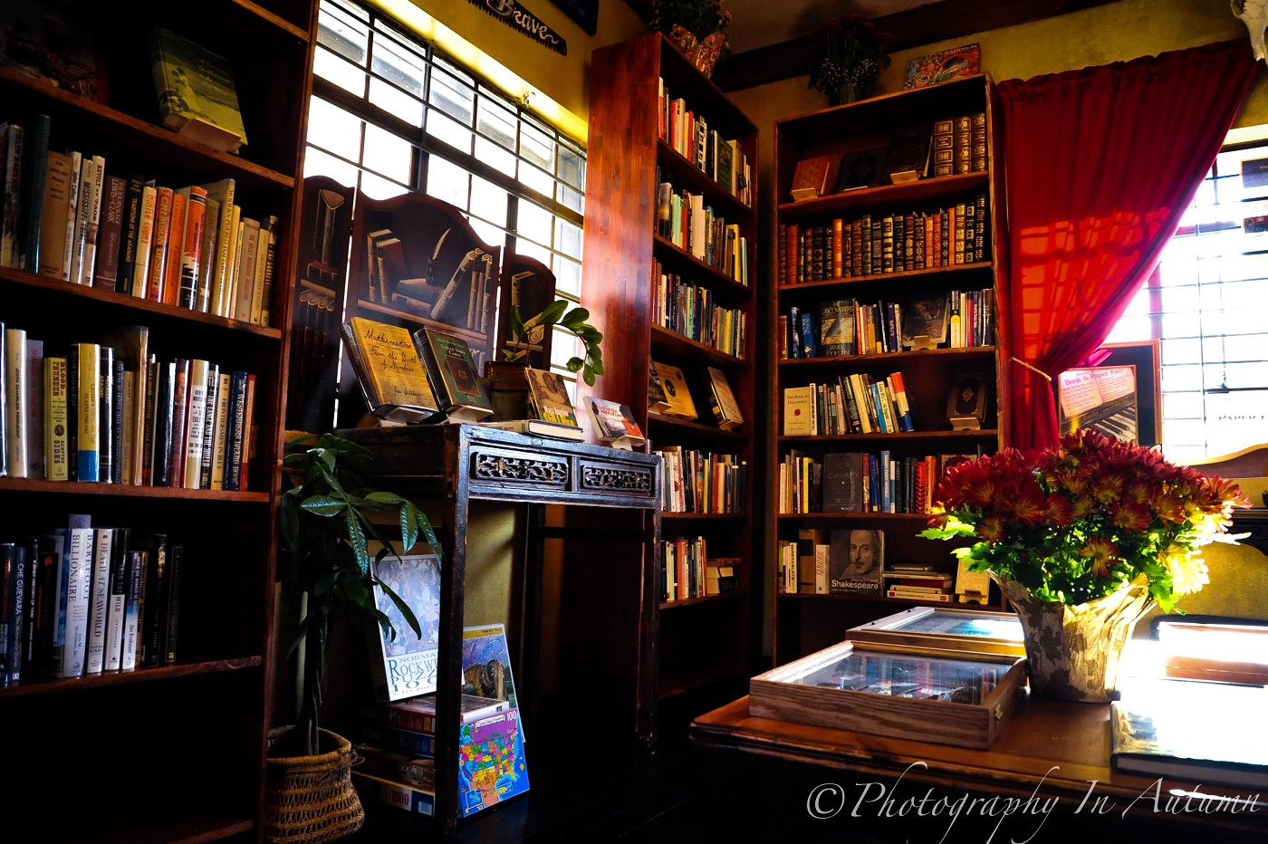 At 9th & 9th Book & Music Gallery, you can peruse the shelves and while away the hours steeped in books you wouldn't normally find elsewhere.