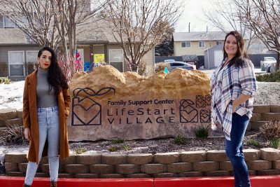 LifeStart Village helps families begin to understand a let go of their past shame and trauma. (L–R) Executive Director Jocelyn De La Rosa and LifeStart Village Program Director Heidi Lund.