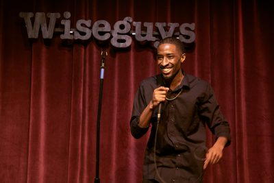In addition to making his way around the SLC comedy circuit, T.J. Taylor cohosts the weekly podcast The Downstairs.