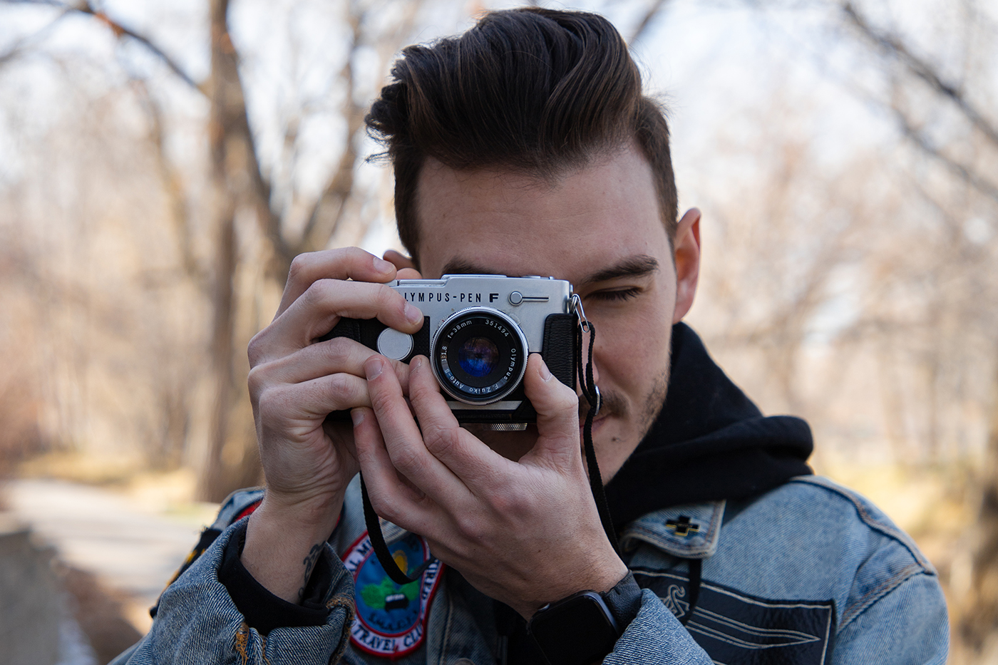 Originally from Tennessee, local photographer Cam Kerper inflects his style with outerwear one might see around SLC and Utah.