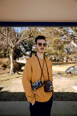 """""""I've always enjoyed pictures and capturing moments,"""" says Cam Kerper"""