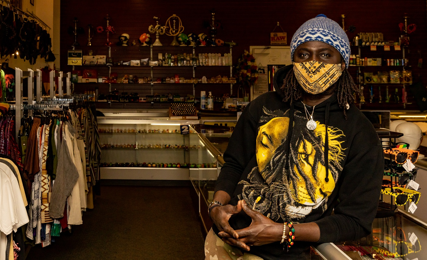 Twisted Roots Owner Ibou Fall seeks to provide Utah's Afro-Caribbean community with a taste of home.