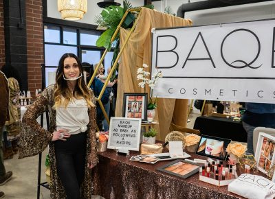 Led by Alicea Marie and Kris Heals, Strength in Shades' WOC Market provided a space for other people of color and women to network.