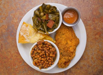 """""""Southern/soul food is near and dear to my heart."""""""
