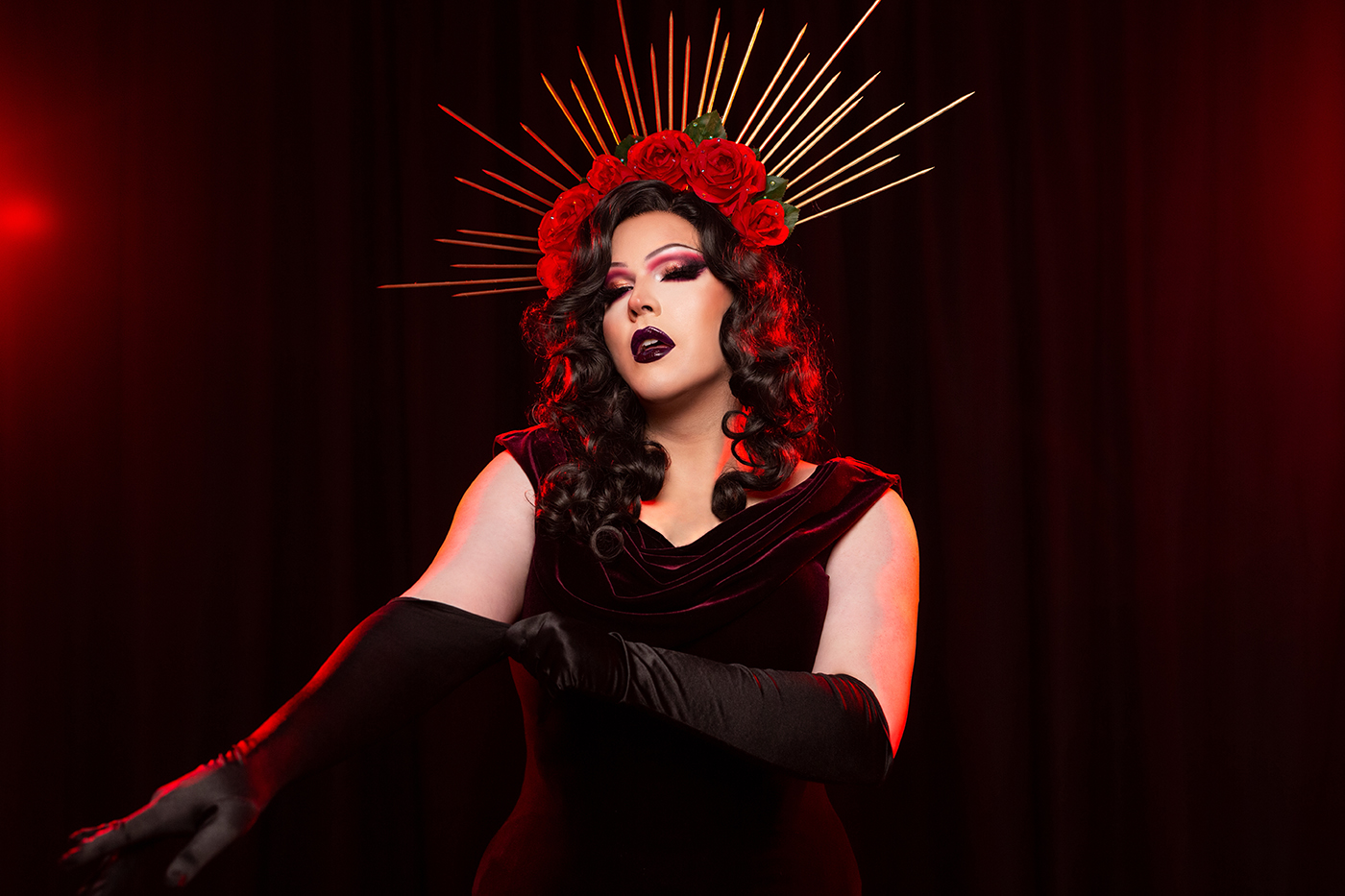 Known onstage as the performer Electra Jones, Jordan Ruggeri explores themes of gender and identity through the art of transformation.