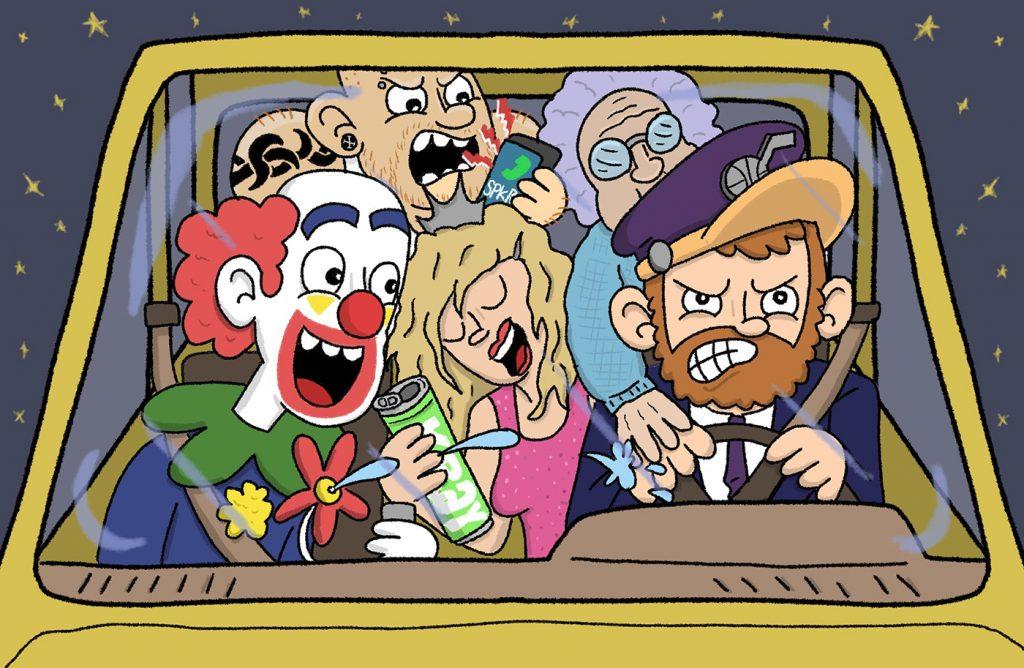 Uber Driving!