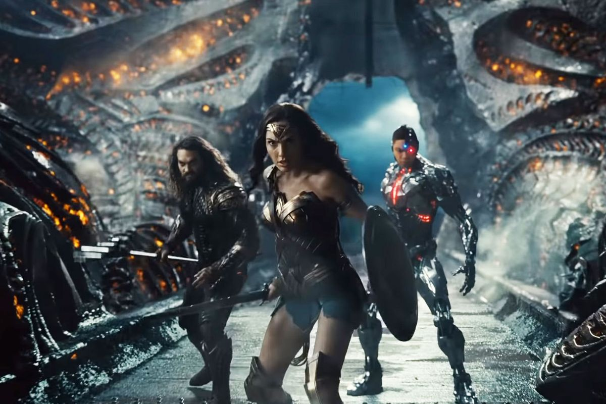 Zack Snyder's Justice League is really the same movie; there's just a lot more of it. It's bloated and wildly self-indulgent.