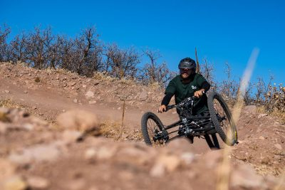 Wasatch Adaptive Sports has both indoor and outdoor cycling classes that become active seasonally, with outdoor beginning in the spring and indoor beginning in the fall.