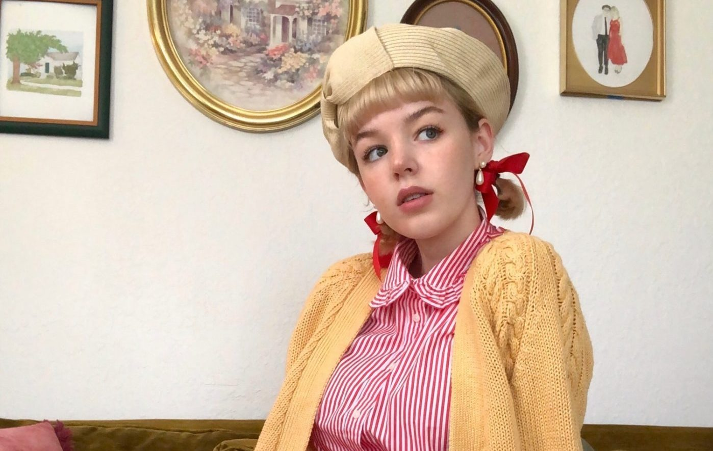 Local stylist and fashion blogger Hannah Ruth describes her style as a mix of vintage, Victorian and modern fashion trends.