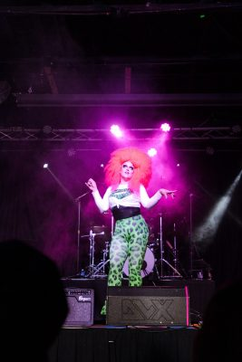 The night featured many fantastic opening performers before Marrlo Suzzanne & the Galaxy Band took the stage.