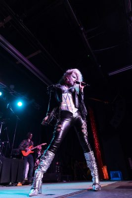 @mladywood performing as a member of the Galaxy Band.