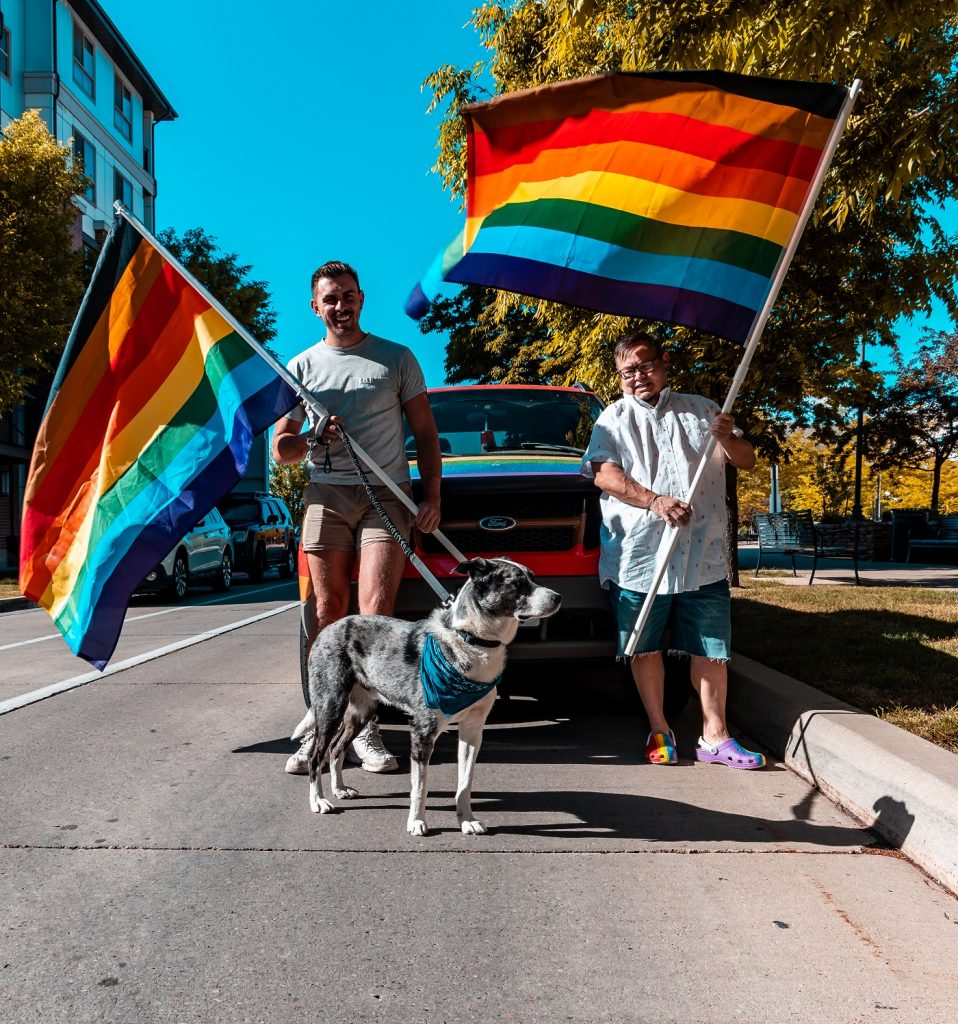 Project Rainbow, an organization set out to bring community to Utah, is responsible for rainbows springing up in Utah.