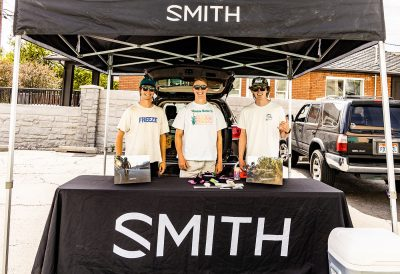 The Smith Optics team was on hand to help kick the event off.