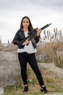 With the Salt Lake City Pink Pistols, Ermiya Fanaeian works to protect Utah's queer community through firearm education and training.