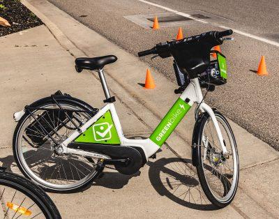 No bike? No problem. With Green Bike anyone can participate in the 9th Annual SLUG Cat.