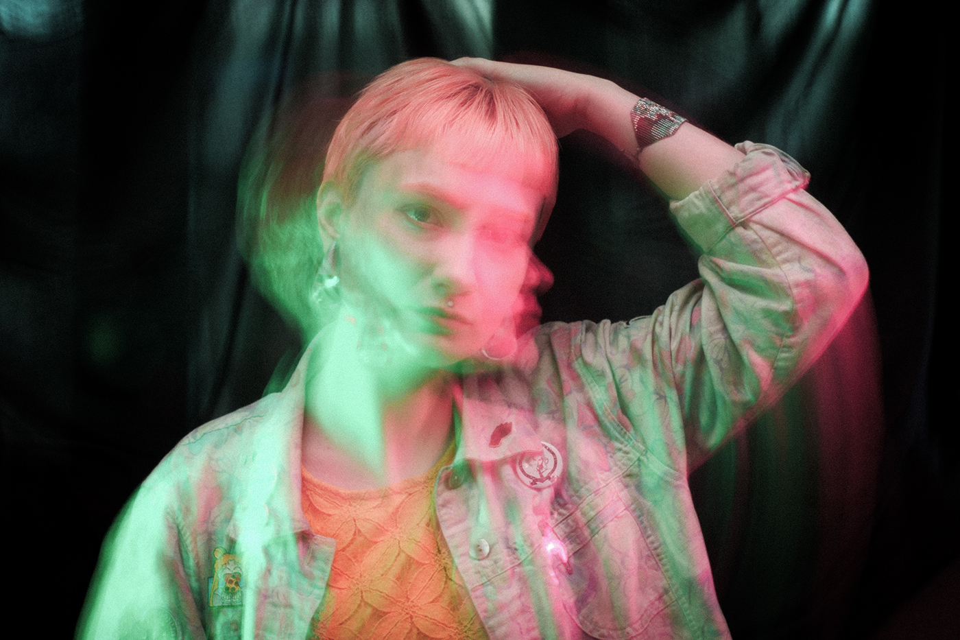 PK Opal (Cecil Smith) strives to create music that breaks the spell of the mundane routines of everyday life.