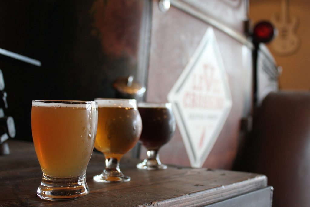 Breweries: Level Crossing Brewing Co., SaltFire Brewing Co., Shades Brewing