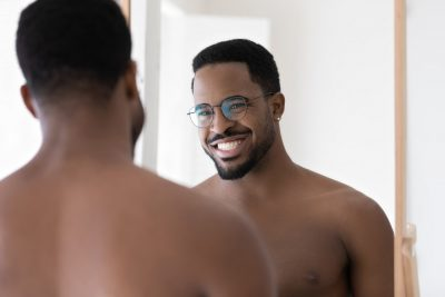 """""""Unwanted hair doesn't care if you identify as gay, straight, bisexual, transgender or anything else—It just grows, but that doesn't mean you have to be stuck with it forever."""""""