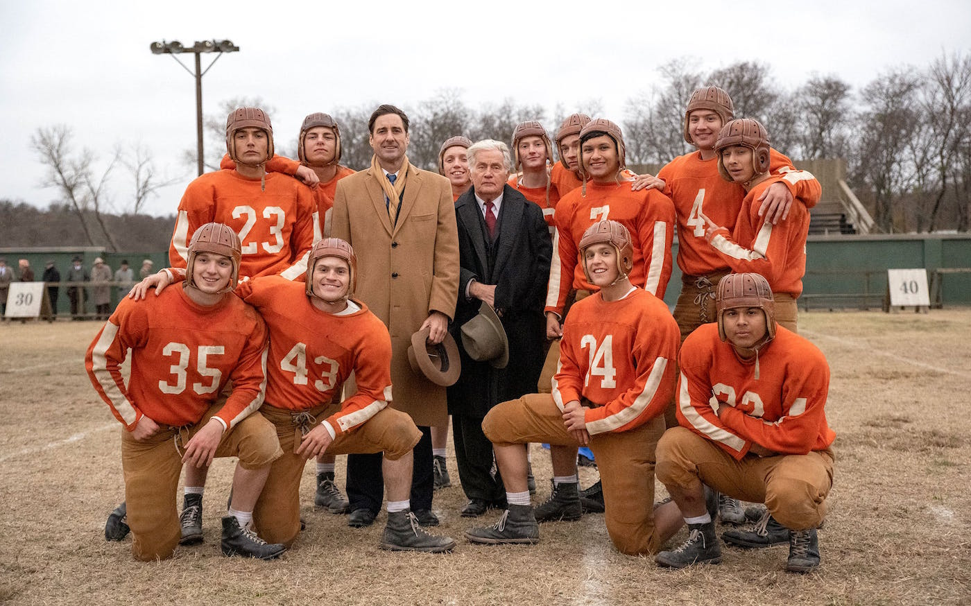 12 Mighty Orphans, which is based on a true story, seems almost foolproof. But it fumbles an awful lot on its way to the goalpost.
