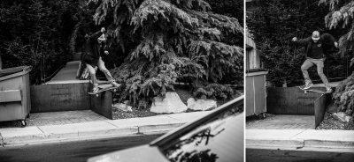 Max Offit | Frontside Lipslide and Frontside Tailslide | SLC Utah.