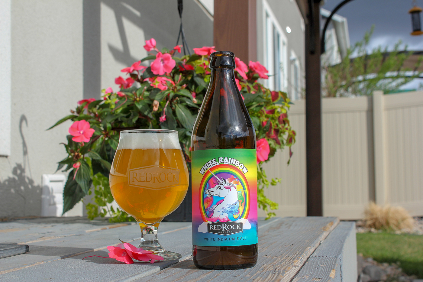 """For their last """"Beer of the Month,"""" Chris and Sylvia are going back to their roots with the White Rainbow."""