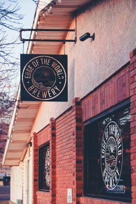 At Edge of the World Brewery, Ray Hammon seeks to build community amount locals and tourists alike.