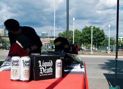 Liquid Death's refreshing mountain water offers a nice way to beat the summer heat.